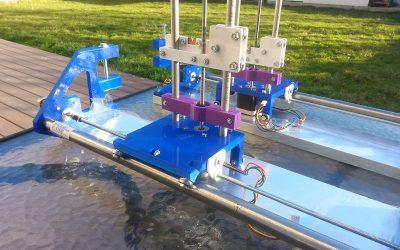 Une machine de découpe CNC imprimée en 3D