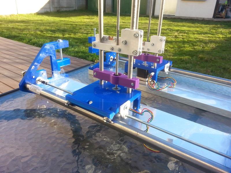 Rustica Rework - Machine de découpe au fil chaud imprimée en 3D