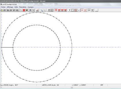 Créer une forme libre avec inkscape : exemple avec un couple de fuselage