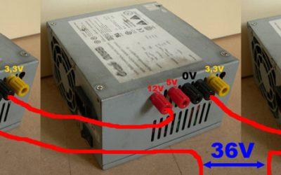 Recycler des alimentations de PC pour votre machine CNC
