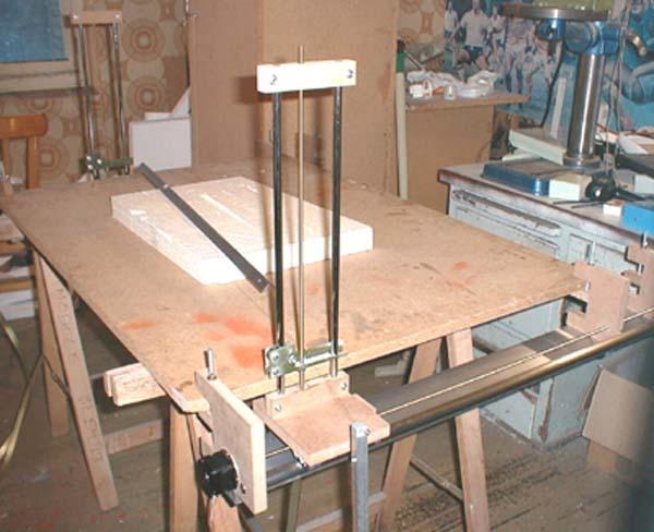 machine cnc pour la d coupe au fil chaud. Black Bedroom Furniture Sets. Home Design Ideas