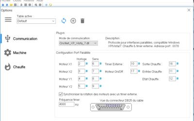 Configurer Jedicut pour sa machine et son contrôleur CNC
