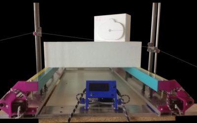 Rustica 2018C – Une machine à courroies imprimée en 3D