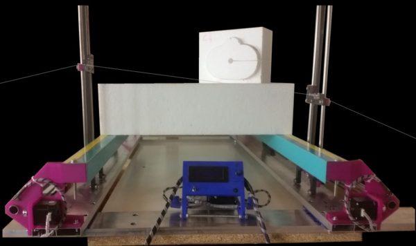 Machine CNC à courroie imprimée en 3D